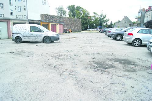 Tu będzie porządny parking